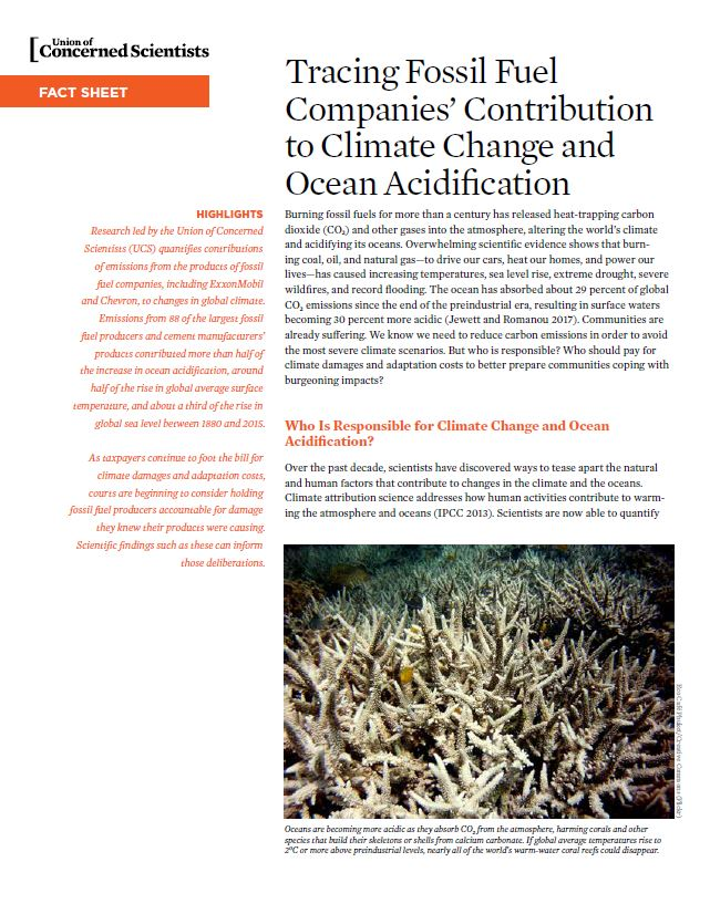 Ocean Acidification Report cover image