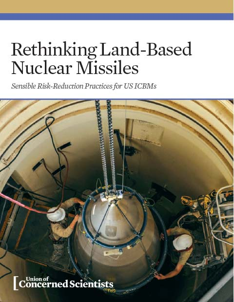 Land based nuclear missiles report cover