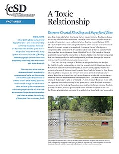 Cover of UCS report, A Toxic Relationship
