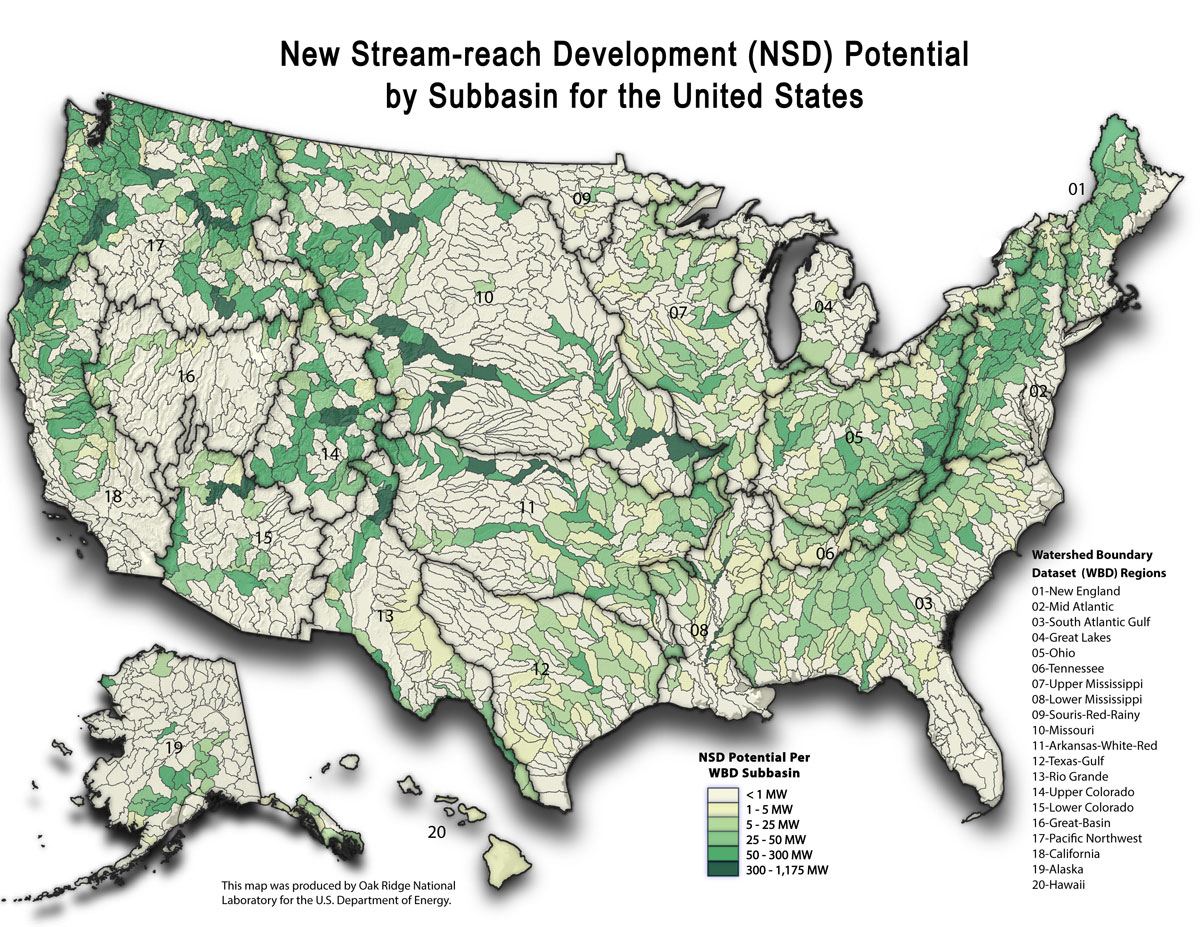 How Hydroelectric Energy Works Union Of Concerned Scientists - Map Of Us River Systems