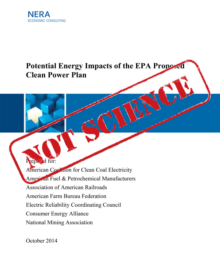 NERA Economic Consulting Report on Clean Power Plan