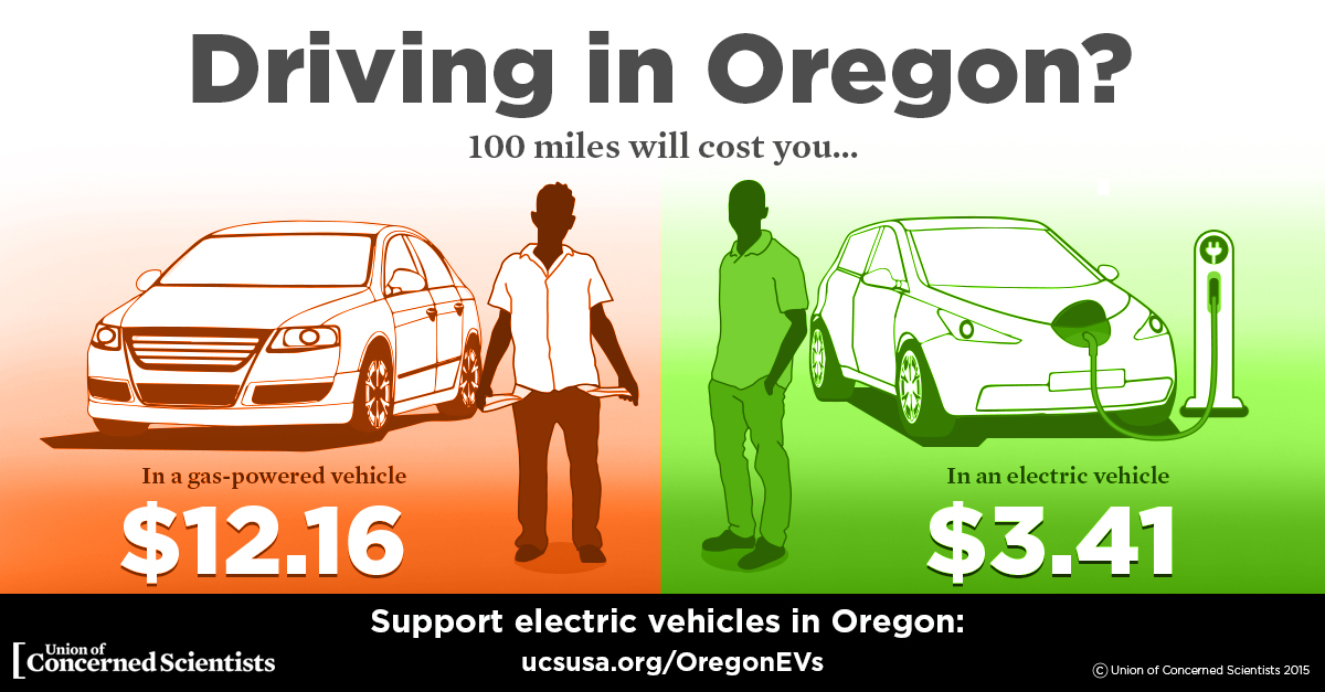 Electric Cars In Oregon Click To Enlarge