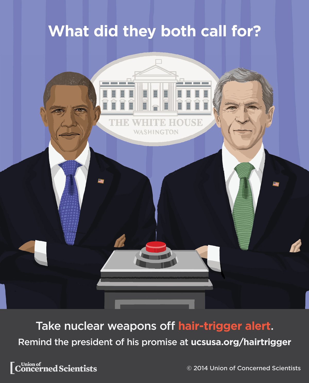Presidents agree on hair-trigger alert.