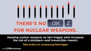 Infographic on nuclear weapons