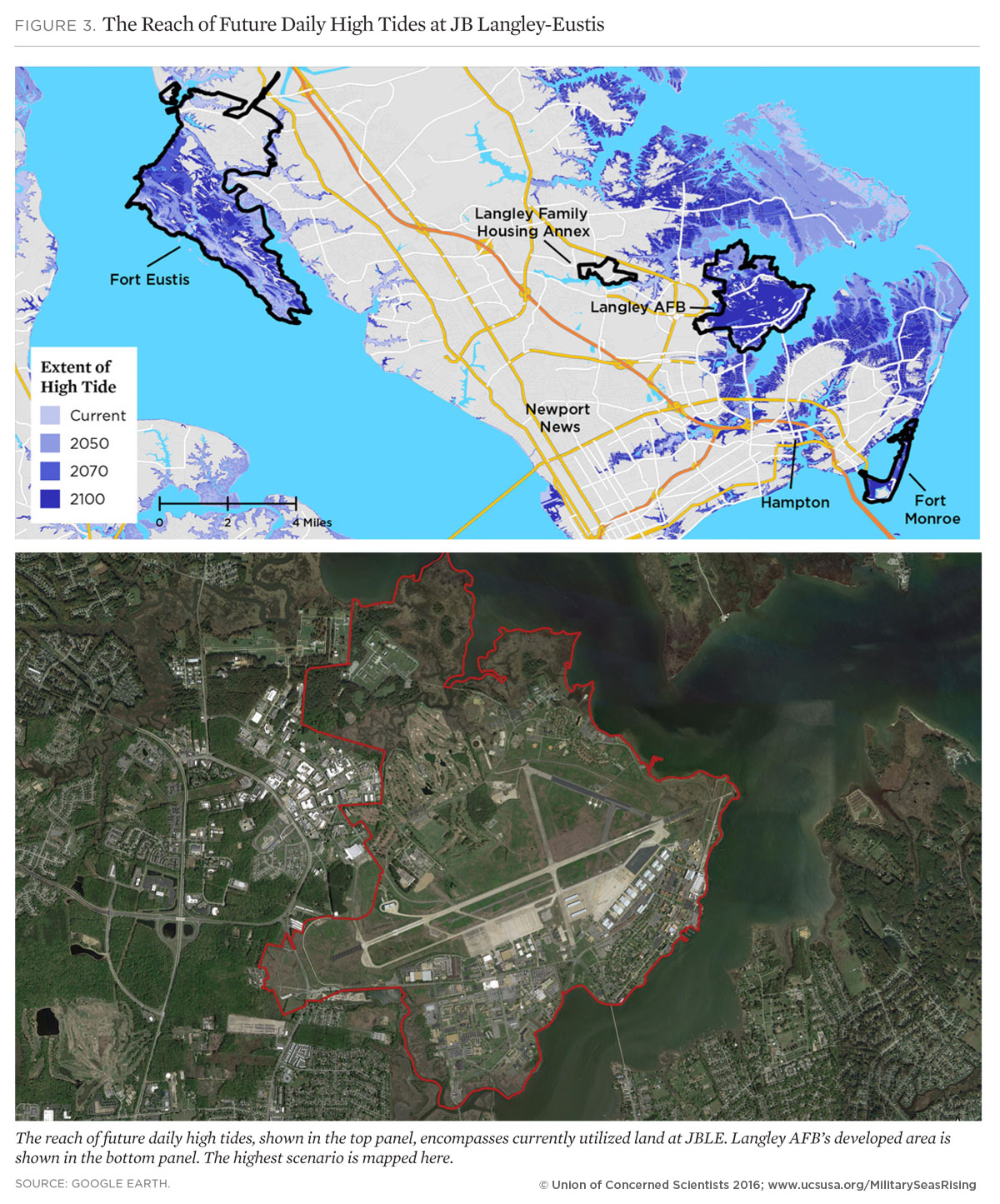 On the Front Lines of Rising Seas: Joint Base Langley-Eustis ... Fort Eustis Virginia Army Base Map on ft. eustis map, fort wadsworth base map, fort jackson sc army base map, joint base langley-eustis map,
