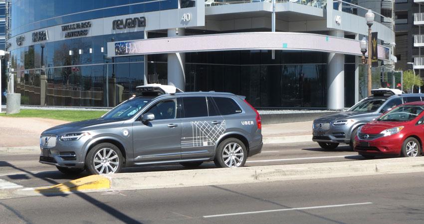 Selfdriving Uber Test