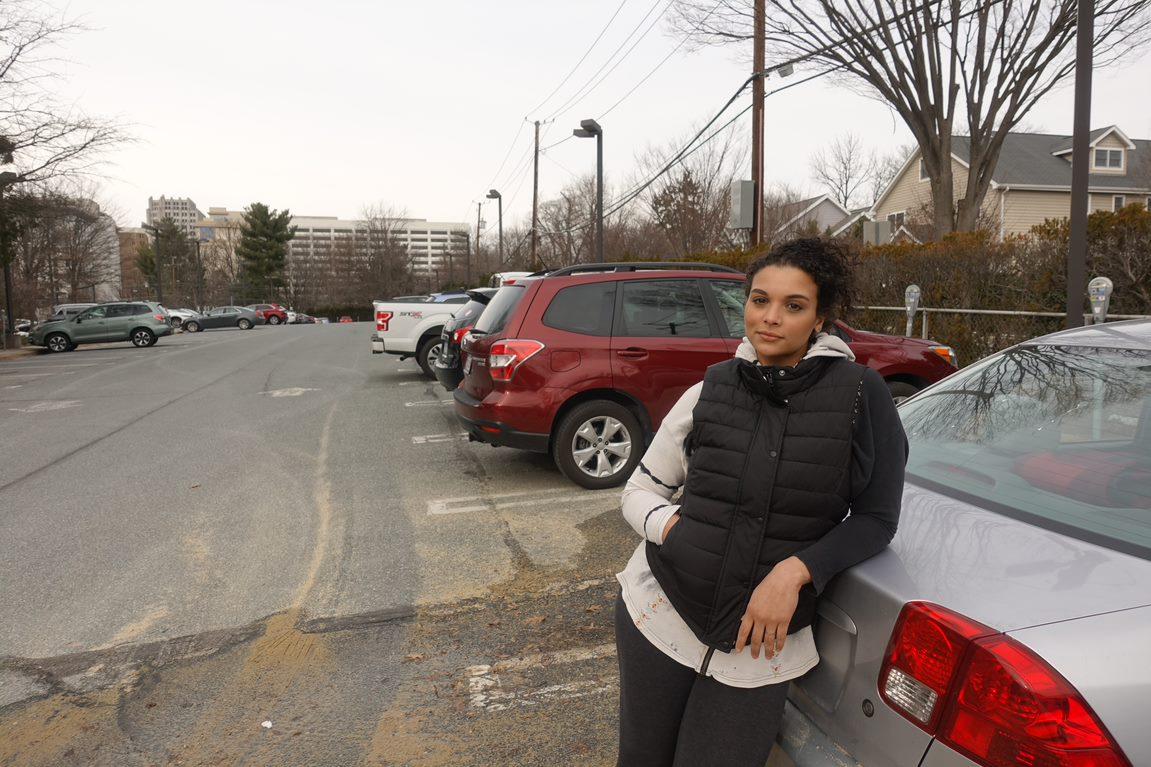 Nina-Sophia Pacheco drives across the region everyday for work.
