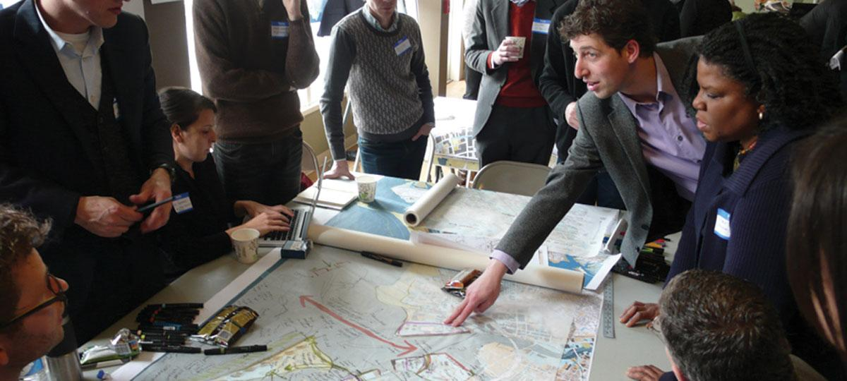 Sea level rise planning meeting in bridgeport, connecticut
