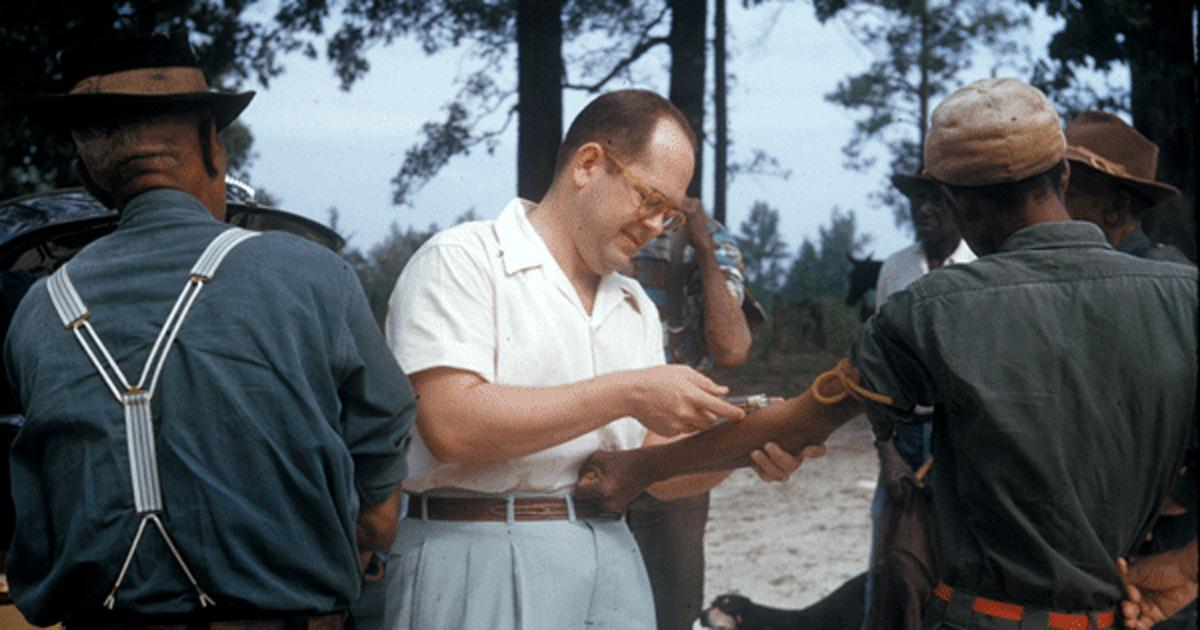 The infamous Tuskegee Syphilis Study