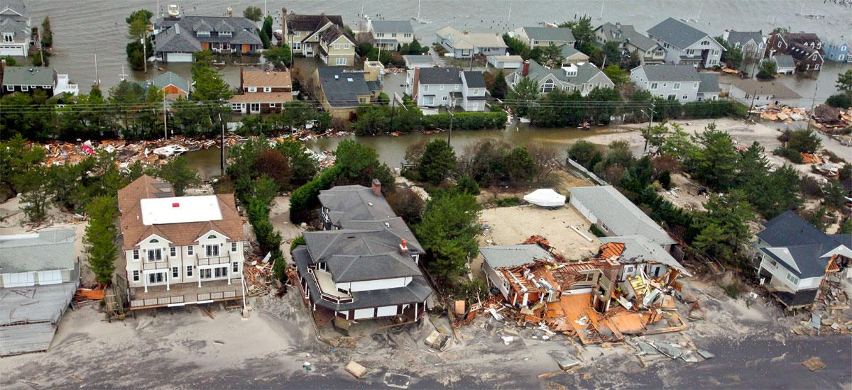 hurricane sandy damage to mantoloking-new-jersey