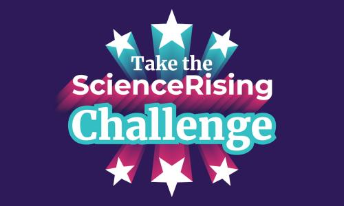 take the science rising challenge logo
