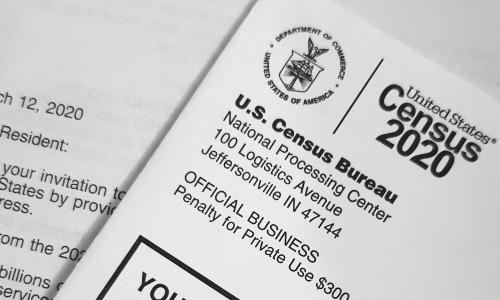 A copy of the 2020 Census.