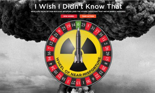 Interactive feature on nuclear close calls